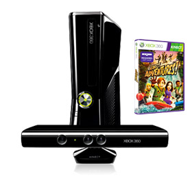 250GB XBox Kinect Bundle