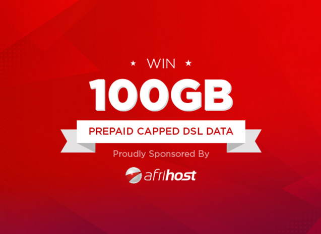 The Afrihost - 100GB Capped Data