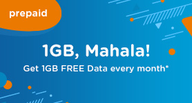 <strong>1GB FREE with Air Mobile Prepaid</strong>